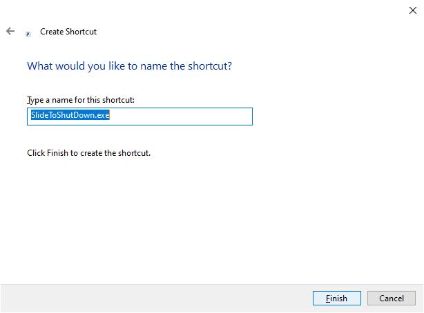 การสร้าง Shortcut (3)